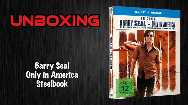 Barry Seal - Only in America Steelbook Unboxing