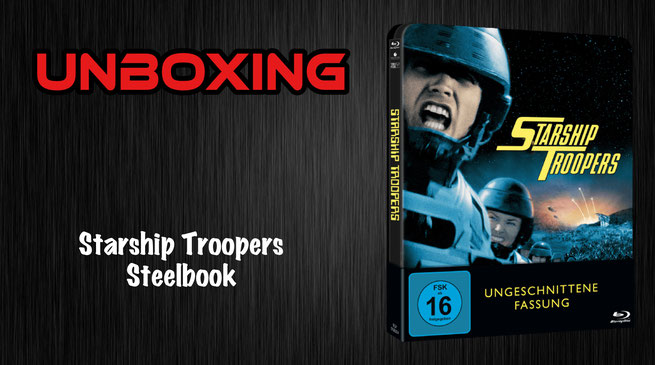 Starship Troopers Steelbook Unboxing