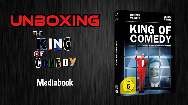 King of Comedy Mediabook Unboxing