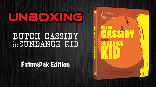 Butch Cassidy and the Sundance Kid FuturePak Unboxing