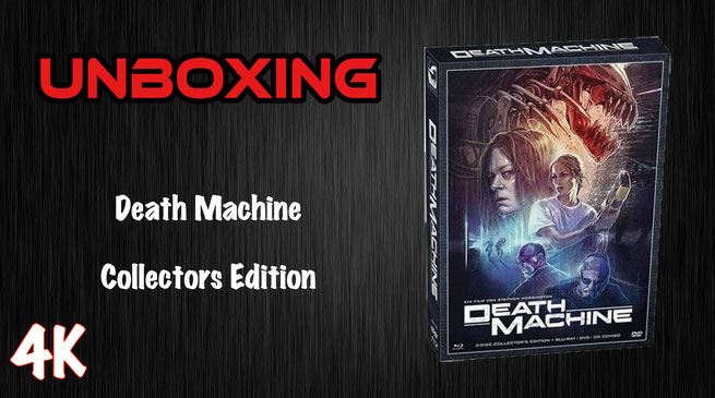 Death Machine Collectors Edition Unboxing