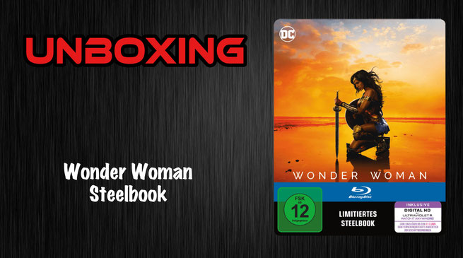 Wonder Woman Steelbook Unboxing