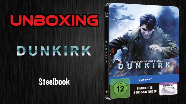 Dunkirk Steelbook Unboxing