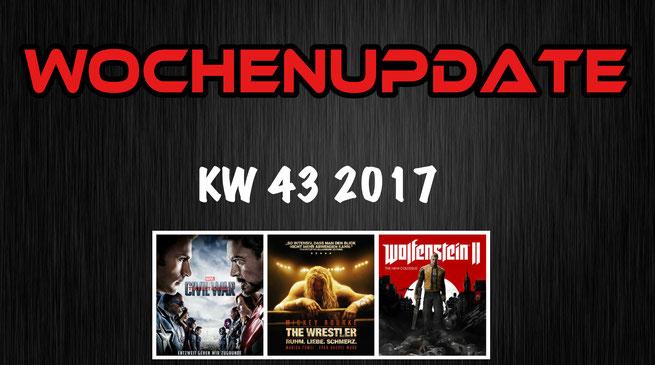 Wrestler im Civil War Wochenupdate KW 43 2017