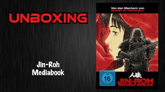 Jin-Roh Mediabook Unboxing