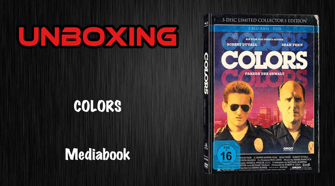 Colors Mediabook Unboxing