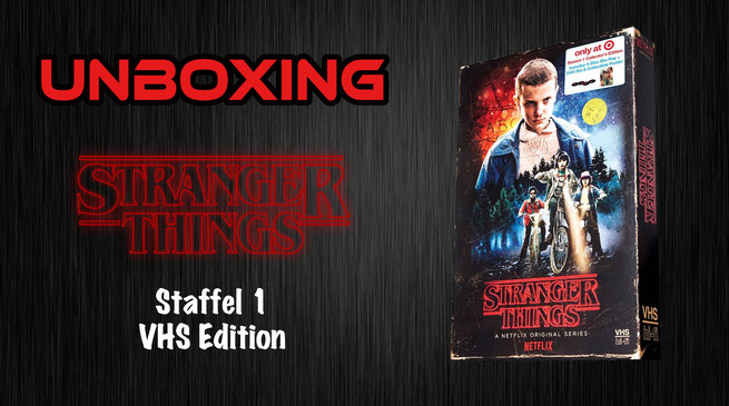 Stranger Things VHS Edition Unboxing