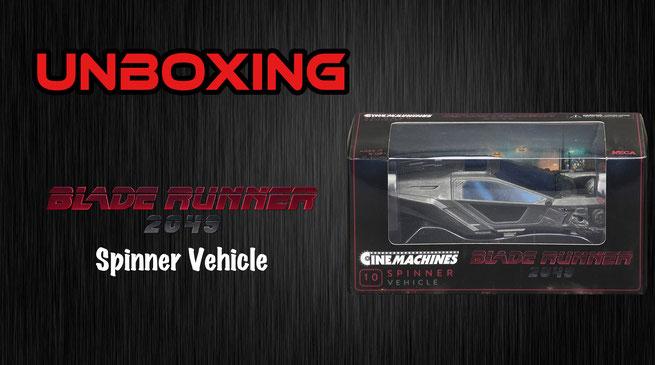 Blade Runner 2049 Spinner Vehicle NECA Unboxing