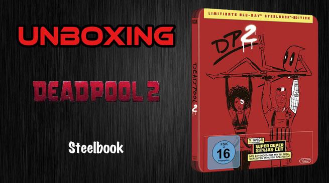 Deadpool 2 Steelbook Unboxing Fun