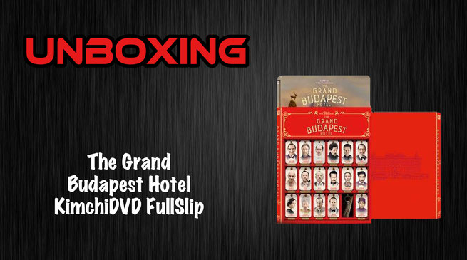 Grand Budapest Hotel KimchiDVD FullSlip Unboxing