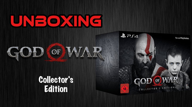 God of War Collector's Edition Unboxing