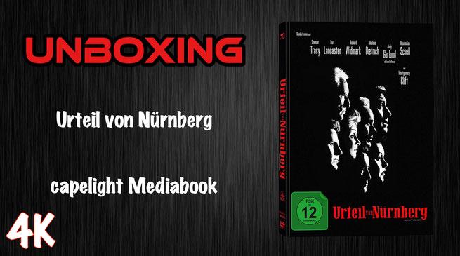 Urteil von Nürnberg Mediabook Unboxing