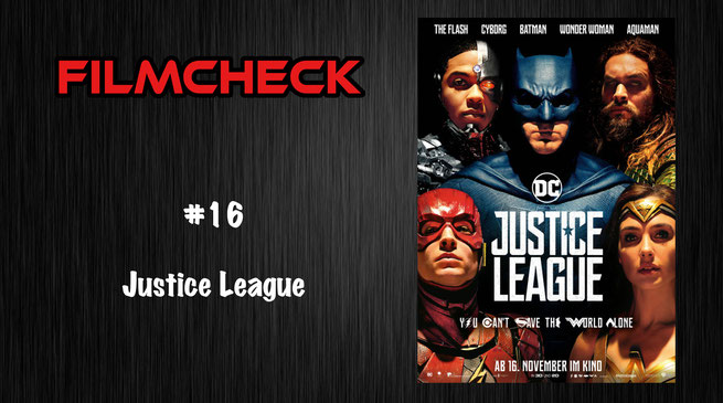 Filmcheck #16 Justice League