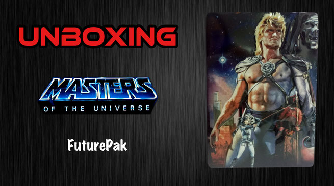 Masters of the Universe FuturePak Unboxing