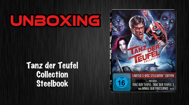 Tanz der Teufel Collection Steelbook unboxing