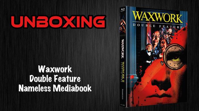 Waxwork Nameless Mediabook Unboxing
