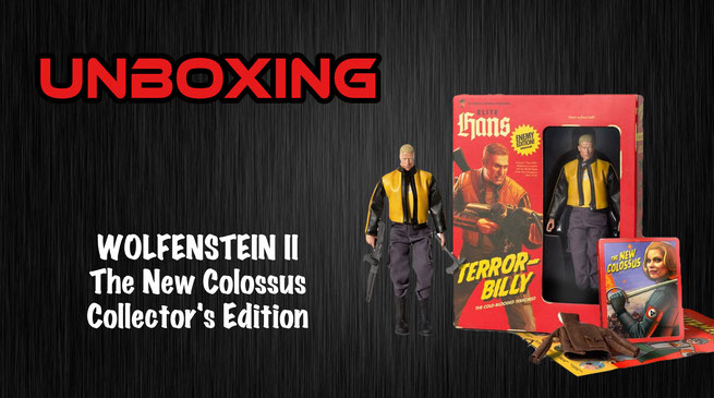 Wolfenstein II: The New Colossus - Collectors Edition Unboxing