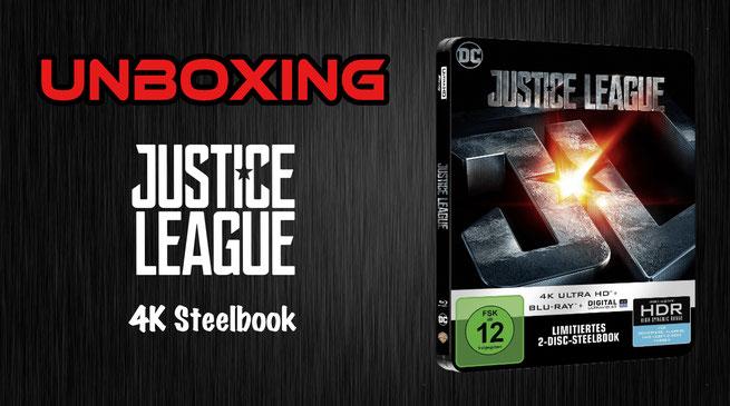 Justice League 4K Steelbook Unboxing