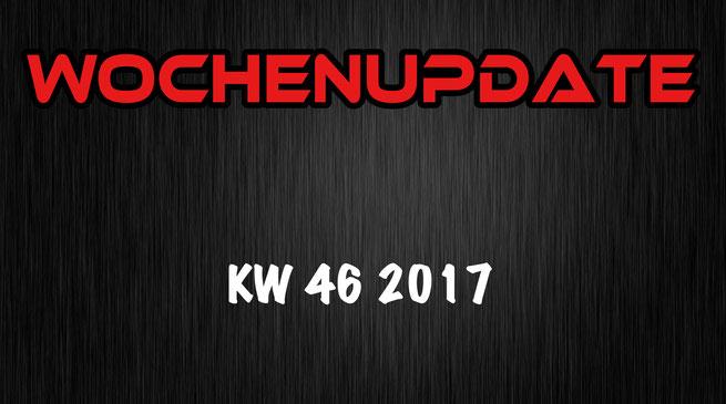 Aliens und Nazis in Sin City Wochenupdate KW 46 2017