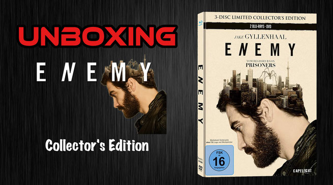 Enemy Mediabook Unboxing