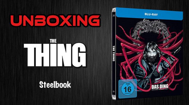 Das Ding aus einer anderen Welt Steelbook Unboxing
