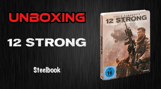12 Strong Steelbook Unboxing