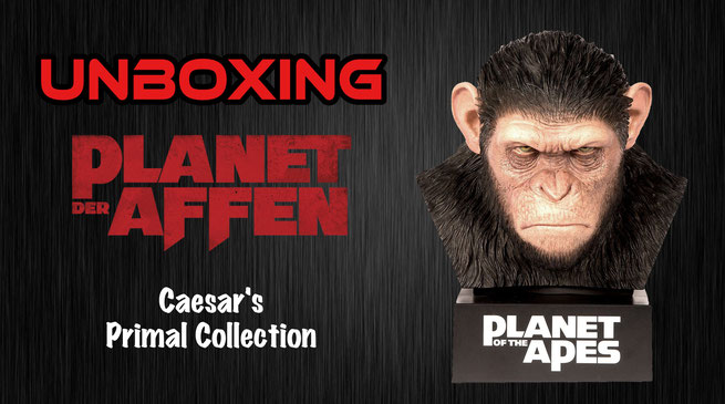 Planet der Affen Caesar?s Primal Collection Unboxing
