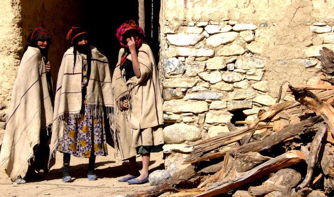 Afgou. Marruecos. mujeres