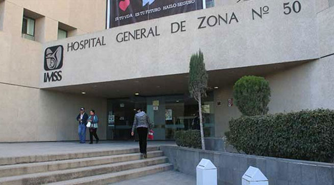 Hospital General de Zona No. 50 del Instituto Mexicano del Seguro Social.