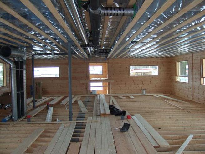 Blockhaus bauen - Blockhausbau - Hausbau - Massivholzhaus - Resturant im Blockhaus - Landhotel - Entwurfsplanung vom Blockhausbauer - Niedersachsen - Celle