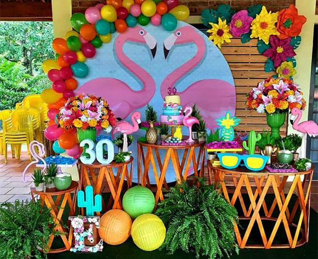 decoracion cumpleaños tematica verano