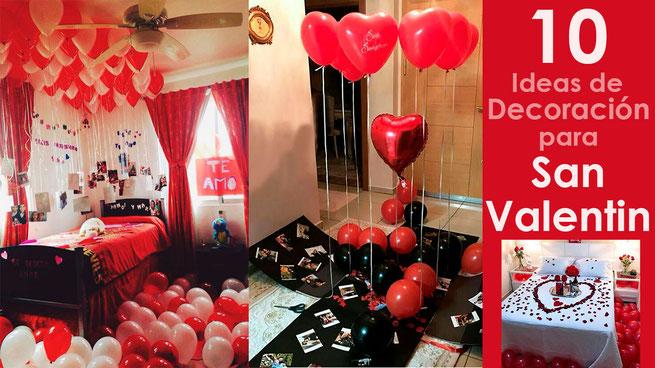 decoraciones para san valentin en casa