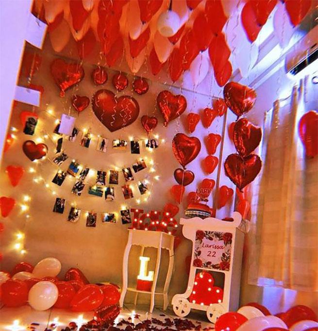 decoracion de san valentin en tu casa