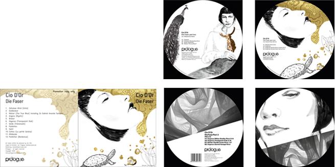 CD cover, Schallplattenhüllen Gestaltung und Illustration