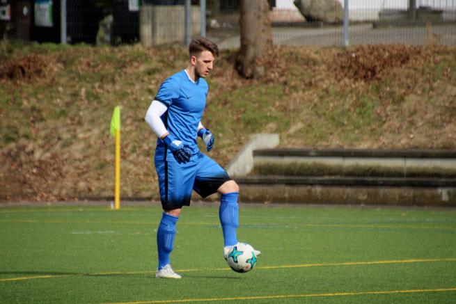 Keeper Thorben Joost spielt doch auch in der nächsten Saison für den OSV. Foto: Mathias Merk