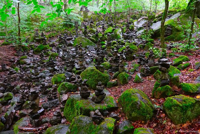 Steinmännesjer in der Holzbachschlucht