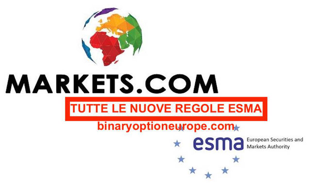 ESMA 2018: ecco come Markets.com si adegua alle nuove regole di trading