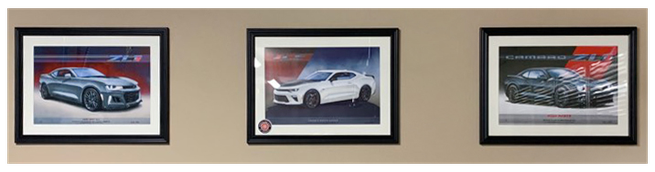 Camaro ZL1 (G6) - Camaro SS 1LE (G6) - Camaro ZL1 (G5)