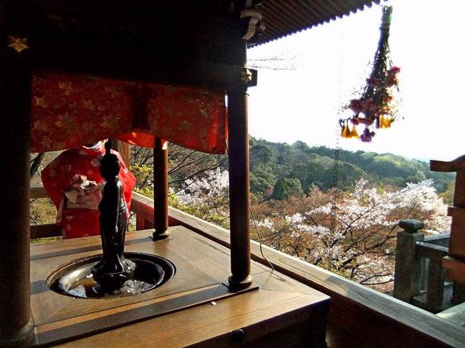 Depuis un angle de la terrasse (Butai)