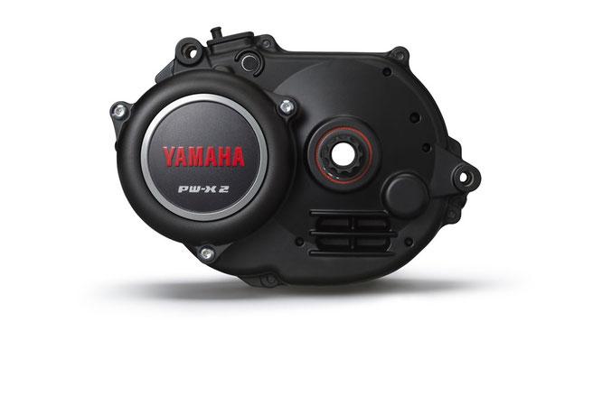 Der Yamaha PW-X2 e-MTB Motor mit dem Extra Power Mode