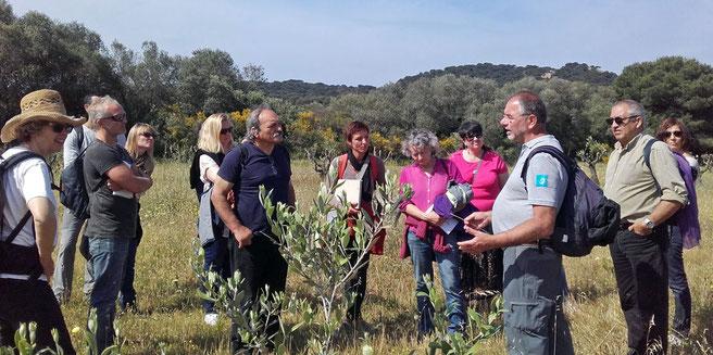les sillanais en visite au conservatoire botanique en mai 2016
