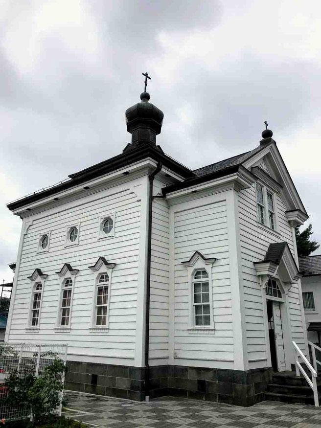 白河市 白河ハリストス正教会聖堂