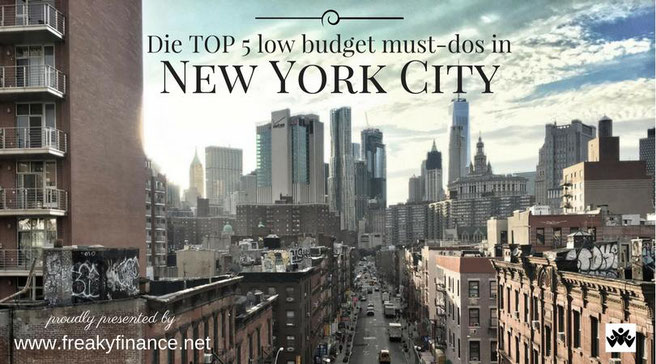freaky finance, freaky travel, Gastartikel, New York TOP 5 must-dos, New York Straße in Hochhäuserschlucht, Städtereise, Reisetipps, Sehenswürdigkeiten