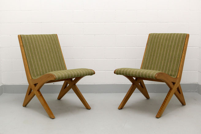 50s swiss mid century modern chairs