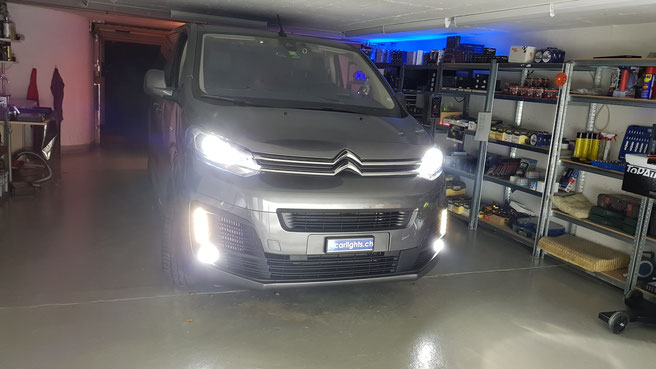 CITROEN SPACE TOURER LED UMBAU VON XENON D8S AUF LED