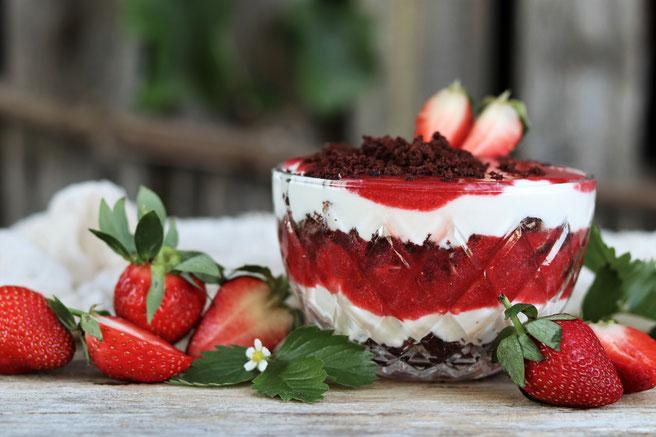 Erdbeer-Mascarponecreme