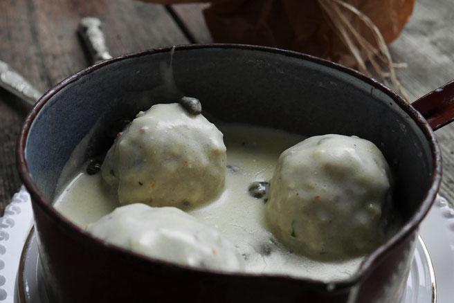 Königsberger Klopse, vegetarisch