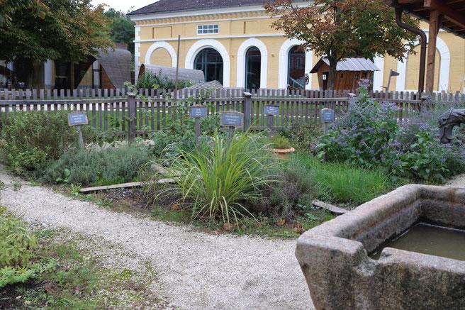 Kräutergarten im Stiegl Gut Wildshut