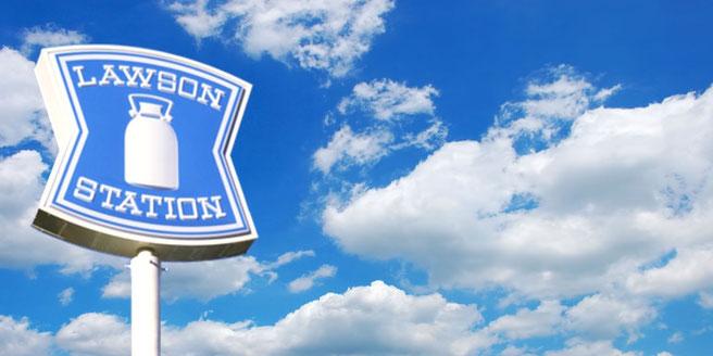 ローソンの看板、ロゴマーク