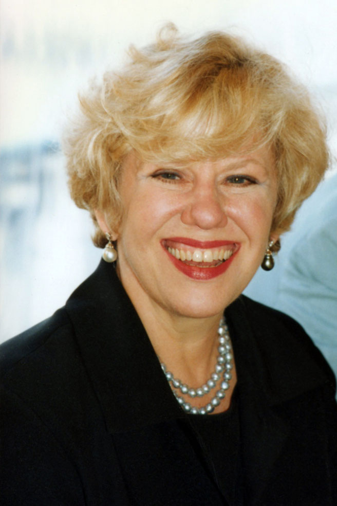 Erica  Jong - Deauville 1997 - Photo © Anik Couble